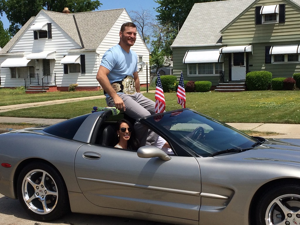 Photos stipe miocic at willowick parade june 5 2016 news herald mark podolski the news herald stipe miocic as grand marshal june 5 at sciox Images