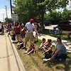 Mark Podolski - The News-Herald<br /> Fans line up on E. 305 for the Willowick Parade June 5.