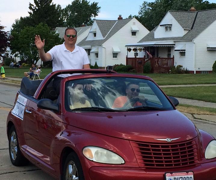 Mark Podolski - The News-Herald<br /> Willowick Mayor Rich Regovich