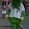 Mark Podolski - The News-Herald<br /> Captains mascot Skipper at the Willowick Parade June 5.