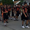 Mark Podolski - The News-Herald<br /> The Eastlake North football team at the Willowick Parade June 5.