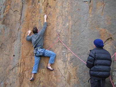 Mark K on Poco Wall (23) Werribee Gourge