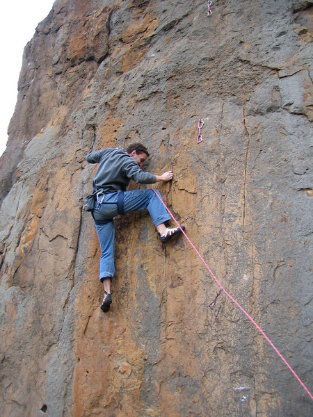 Mark K on Poco Wall (23) Werribee Gourge