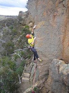 Will on Holiday Sidewinder (23), Werribee Gourge