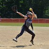 Paul DiCicco - The News-Herald<br /> SPC Hot Sox (14u) and Lake Catholic High School pitcher, Lauren Bush, winds up to deliver a pitch.  Lauren was a big factor in delivering Lake Catholic to a Regional birth a few weeks ago.  Today she powered the Hot Sox to a 16-2 victory over Ohio Power out of Akron, Ohio.