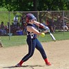 Paul DiCicco - The News-Herald<br />  SPC Hot Sox pitcher, Lauren Bush, struck out many as this Ohio Power hitter swings and misses.  The SPC Hot Sox went on to win 16-2 at the Willoughby Starzz Invitational on June 10.