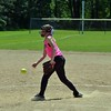 Paul DiCicco - The News-Herald<br /> Explosive pitcher, Alyssa Carmen, releasing a pitch.  Explosive, behind a couple of big innings offensively, won a close game against Erie Strike Force, 8-7 at the Willoughby Starzz Invitational softball tournament on June 10.