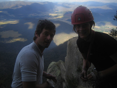 Cath and Stue at the top of backless(21)