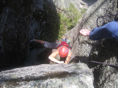 Cath on Jesse James (16) in the Gorge at Mount Buffalo