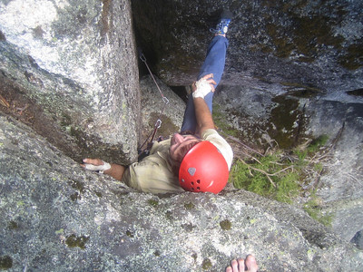Stuart on Jesse James (16) in the Gorge at Mount Buffalo