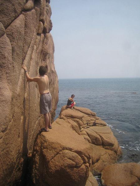 cape woolamai looks good climbs bad!