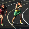 5-24-12<br /> Track Regional held at KHS<br /> Eastern's Blake Thomas in the finals of the 100 meter.<br /> KT photo | Tim Bath