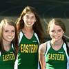 5-29-12<br /> Eastern girls track Regional winners going to state<br /> Bethany Neeley,  Sarah Wagner, Brittany Neeley<br /> KT photo | Tim Bath