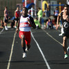 5-17-12<br /> Boys Track Sectionals at KHS<br /> KHS's Harvey Lenoir taking the win with Cass's Thorsten Watz and Logan's Djivon Moore on each side.<br /> KT photo   Tim Bath