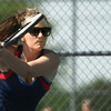 5-16-12<br /> Tennis Sectionals EHS vs Taylor, KHS vs Tipton<br /> KHS's Allison Wray playing # 2 singles.<br /> KT photo | Tim Bath