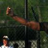 5-24-12<br /> Track Regional held at KHS<br /> Darrion McAlister throwing discus.<br /> KT photo | Tim Bath