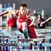 5-24-12<br /> Track Regional held at KHS<br /> Cass Drew Shepherd running the 110 meter hurdles.<br /> KT photo | Tim Bath