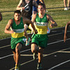 5-24-12<br /> Track Regional held at KHS<br /> Eastern's Blake Thomas taking the handoff from Clay Marner.<br /> KT photo | Tim Bath