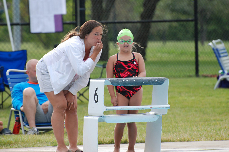 Momma Coach giving some great instruction :)