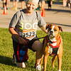 Barry Booher - The News-Herald<br /> Sandy Samac and Jaz are ready for the 5K.