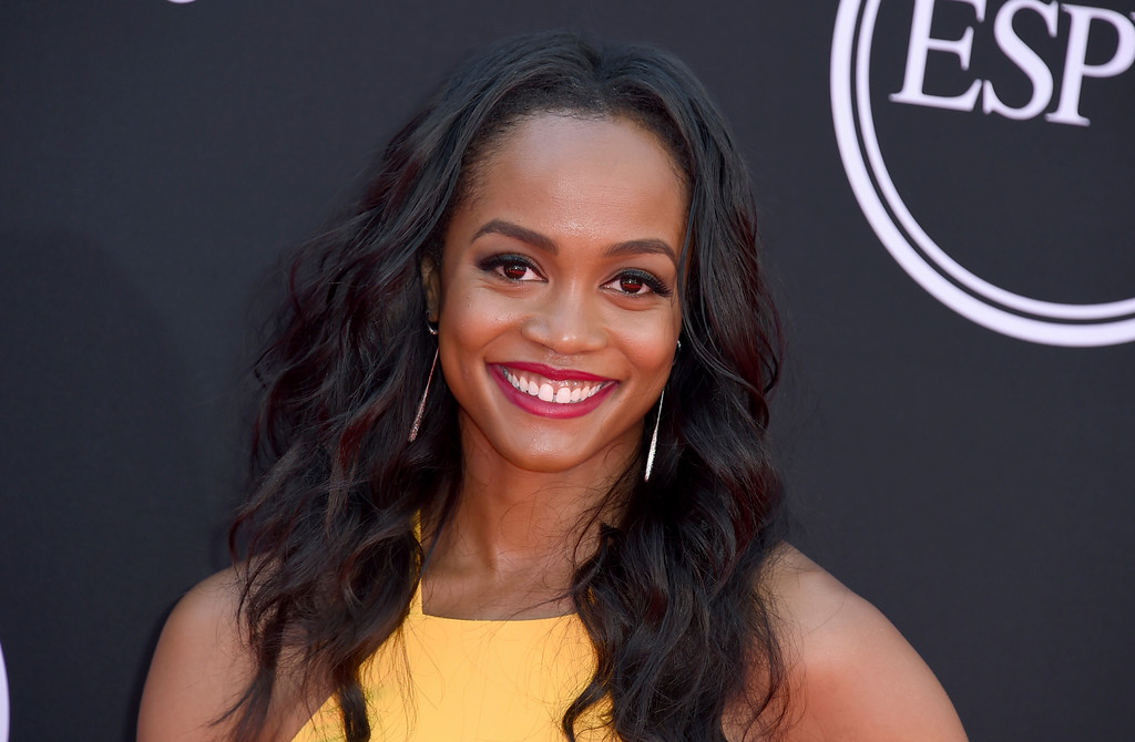 . Rachel Lindsay arrives at the ESPYS at the Microsoft Theater on Wednesday, July 12, 2017, in Los Angeles. (Photo by Jordan Strauss/Invision/AP)