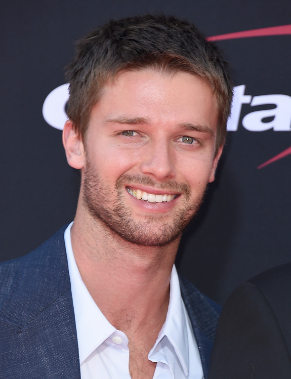 . Patrick Schwarzenegger arrives at the ESPYS at the Microsoft Theater on Wednesday, July 12, 2017, in Los Angeles. (Photo by Jordan Strauss/Invision/AP)