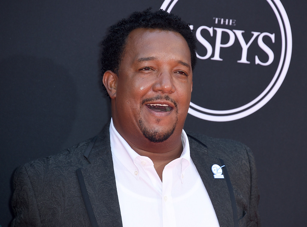 . Pedro Martinez arrives at the ESPYS at the Microsoft Theater on Wednesday, July 12, 2017, in Los Angeles. (Photo by Jordan Strauss/Invision/AP)