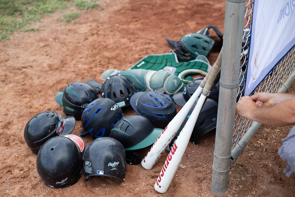 . Scenes from an Ohio State Junior Baseball League game between Loveland and Englewood at Kiwanis Recreation Park in Painesville, Ohio, on July 23, 2018.
