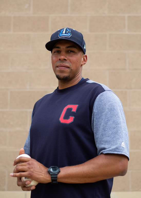 . Michael Johnson - The News-Herald Lake County Captains pitching coach Joe Torres at Classic Park on July 20.
