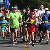 Randy Meyers - The Monring Journal<br> Runners start the 5k Journal Jog on a beautiful Sunday at the Black River Landing in Lorain.