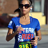 Jon Behm - The Morning Journal<br> Nicole Oliva, of Amherst, won the women's 25-29 age group during the eighth annual Journal Jog on July 30 with a time of 25:13.8.