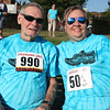 Randy Meyers - The Morning Journal<br> 3K walkers are Ed Hendershott and Sherri Bennett pose prior to the eighth annual Journal Jog on July 30.