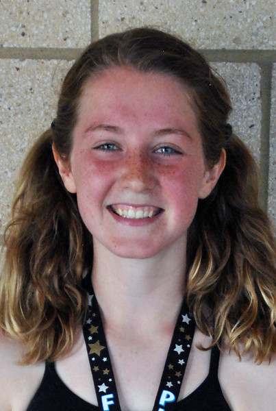 Jon Behm - The Morning Journal<br> Women's 16-19 age group winner, Annie Palmer.