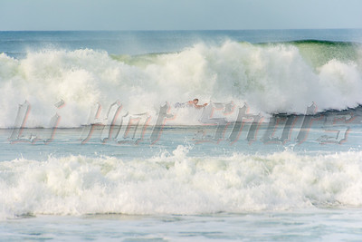 08/06/2014 Wednesday, Surfing Smith Point Outer Beach