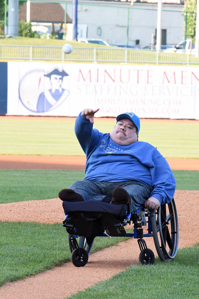Mike Payne - The News-Herald<br /> A fund raiser for Eastlake resident Dave Dietrich was held Aug. 23 at the Captains game.