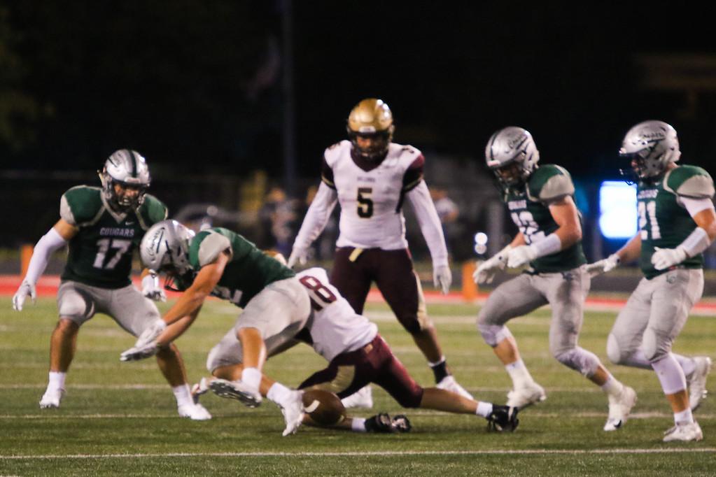 . 2018 - Football - Stow at Lake Catholic.  Lake Catholic defeated Stow 31-7.