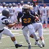 Tim Phillis - The News-Herald<br /> Action from John Carroll's scrimmage vs. Case Western Reserve at Don Shula Stadium on Aug. 24