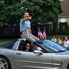 Mark Podolski - The News-Herald<br /> Stipe Miocic as grand marshal June 5 at the Willowick Parade.