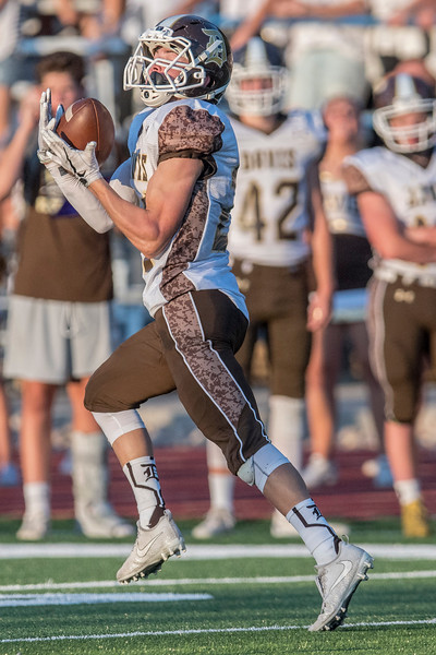 Davis Darts match up against the Layton Lancers for the Friday night football game in Layton on September 1, 2017.