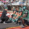 Brian Havrilla - Lake Erie College<br /> LEC players get instruction Sept. 3 vs. Northern Michigan.