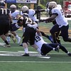 Allie Kaminski - John Carroll Sports Information<br /> John Carroll's Scott Eilerman (Kirtland) makes a tackle Sept. 3.