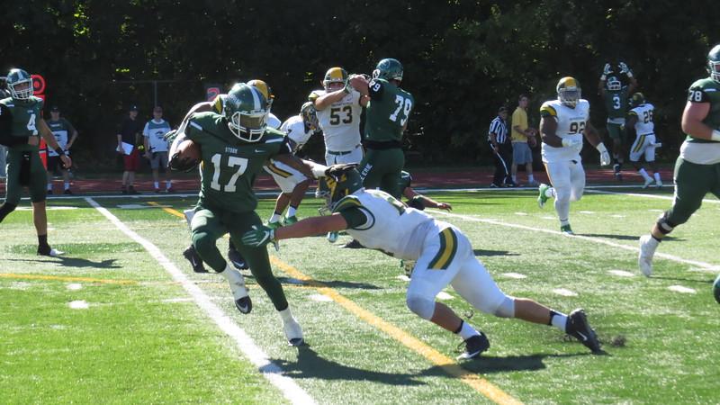 Brian Havrilla - Lake Erie College<br /> LEC's Jon Bell vs. Northern Michigan Sept. 3.