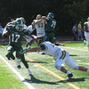 Brian Havrilla - Lake Erie College<br /> LEC's Jon Bell vs. Northern Michigan Sept. 3.