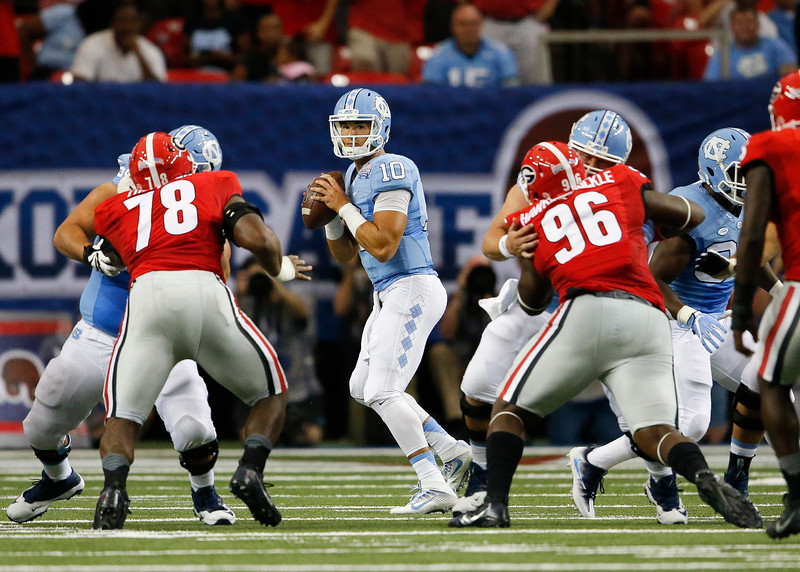 North Carolina Georgia Football