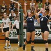The Lorain Titans celebrate a decisive point.  Amanda K. Rundle -- The Morning Journal