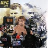 Tim Phillis - The News-Herald<br /> Urijah Faber addresses the media after his workout Sept. 7 at Gateway Plaza.