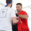 Tim Phillis - The News-Herald<br /> UFC heavyweight champion Stipe Miocic during his workout Sept. 7 at Gateway Plaza.