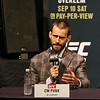 Tim Phillis - The News-Herald<br /> CM Punk at a UFC 203 news conference Sept. 8 at Quicken Loans Arena.