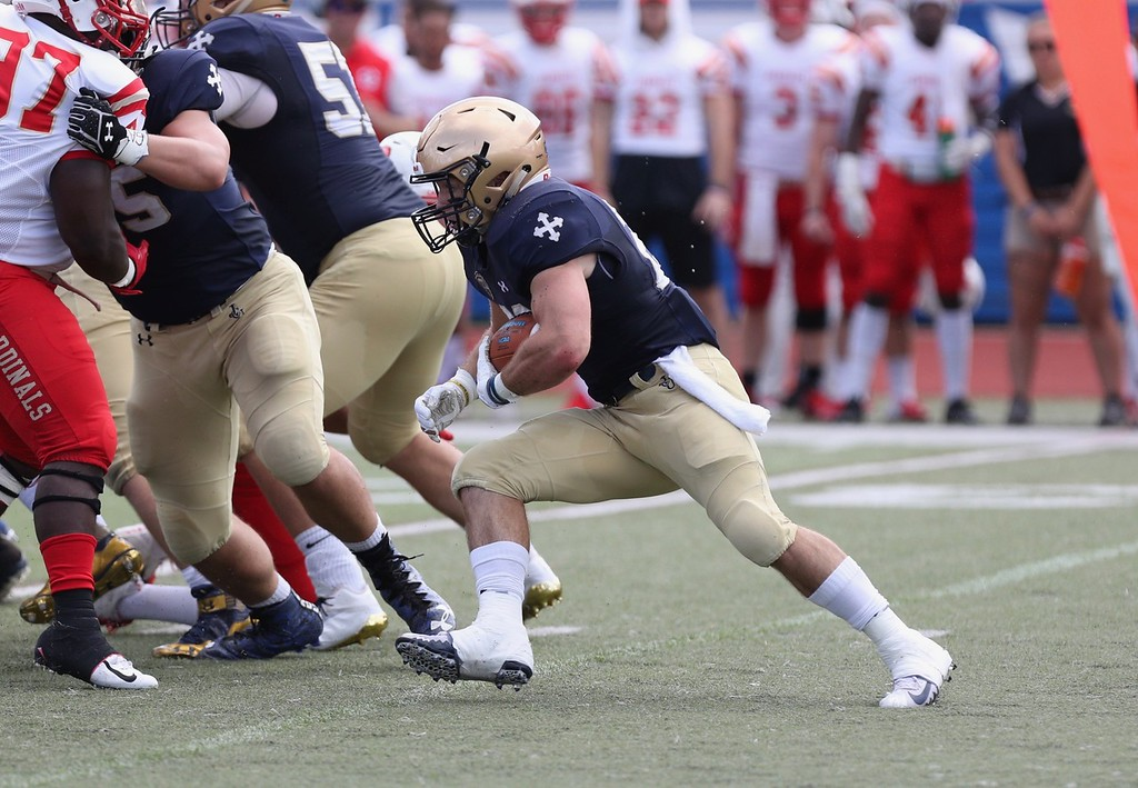 . Tim Phillis - The News-Herald Photos from the John Carroll vs. Otterbein football game on Sept. 15, 2018.