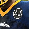 Tim Phillis - The News-Herald<br /> Euclid players wore a patch honoring Andre Jackson.